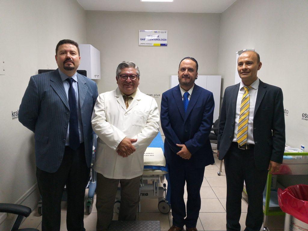 Hospital Roosevelt inaugura la unidad de motilidad digestiva
