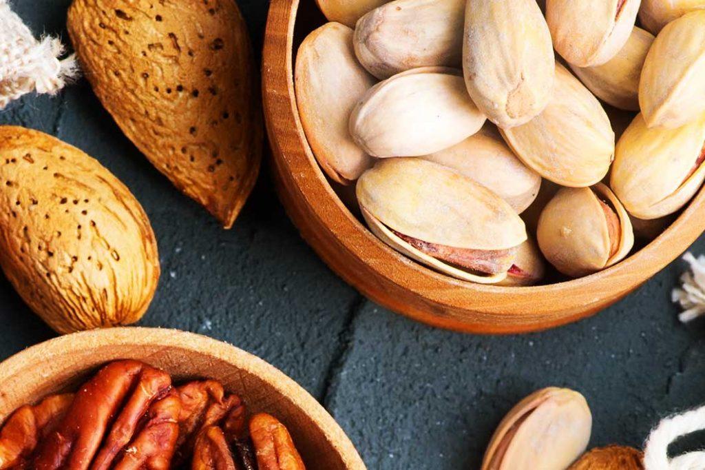 Elegir el consumo de frutos secos, semillas y aceite de oliva