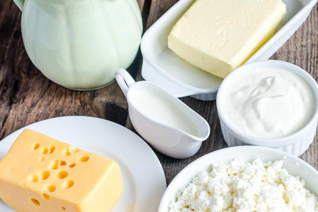 Elegir productos lácteos bajos en grasa