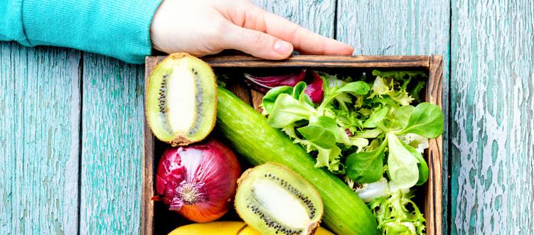 La alimentación saludable durante la cuarentena