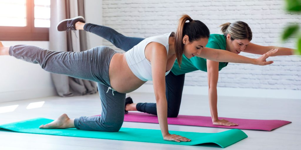 Método Pilates en el embarazo