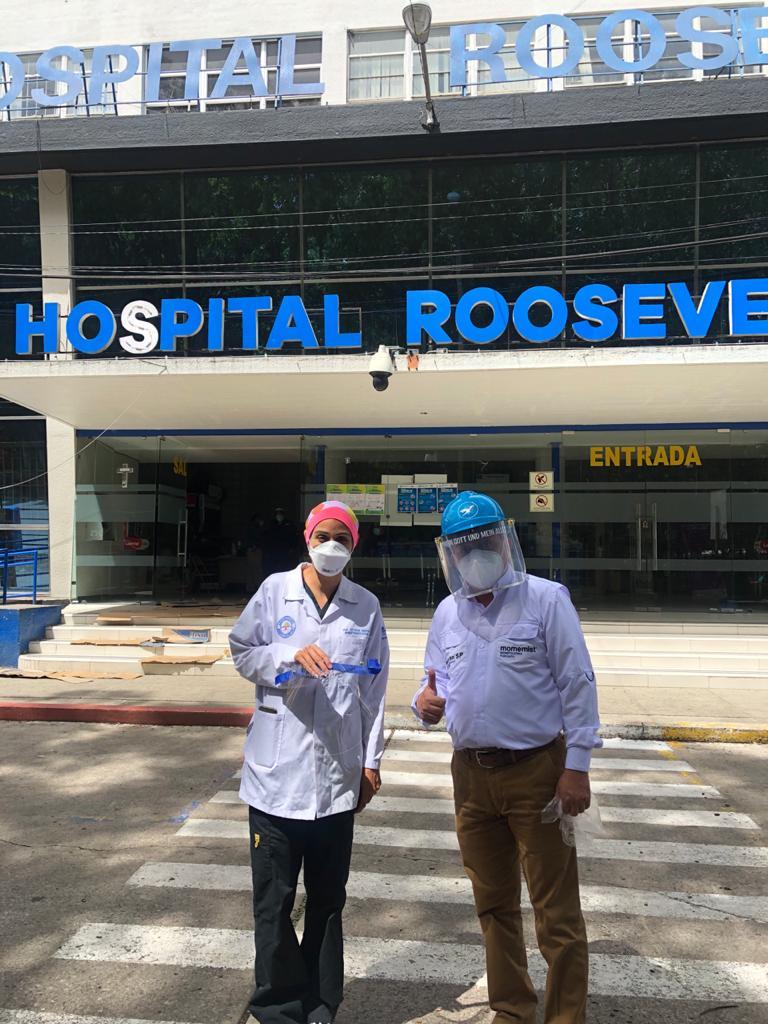 Donovan Werke Internacional apoyo a Hospital Roosevelt