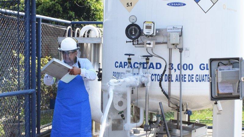 Gases medicinales en Guatemala