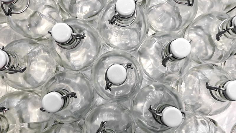 Reciclar y reutilizar vidrio es ahorro