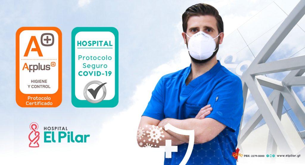 Hospital El Pilar logra la certificación Applus+ Protocolo Seguro frente al Covid-19