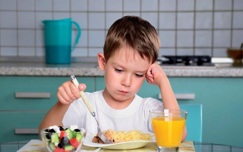 Pérdida de apetito Diabetes Mellitus Tipo 1 en niños y adolescentes