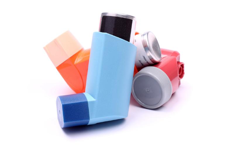 Inhalador de dosis medida (IDM)